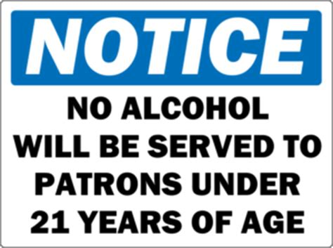 Frequently Asked Questions: Minimum Legal Drinking Age Age 21